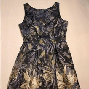 Jessica Howard dark blue floral dress